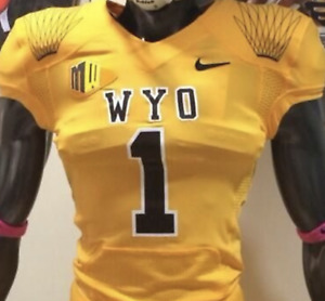 Wyoming Cowboys Jersey - Choose Name, Number, Color and Size