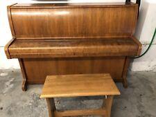 Klavier Firma Zimmermann / Bechstein mit Klavierhocker