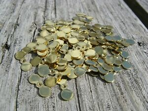 Brass Propeller Blades Size 3 Tackle Crafting Blades 100 Per Lot C3