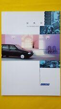 Fiat Uno S fuego 60 DS TURBO IE 1.4ie S COCHE FOLLETO VENTAS catálogo 1993 Como Nuevo