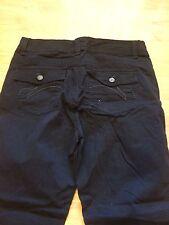 Women's GLORIA VANDERBILT pants Jeans Size 12 Average Black