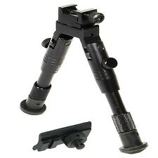 Tactical Rifle Gun AR Bipod OP SWAT Adjustable Mount Stand Dual Height 223 Rail