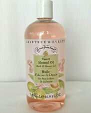 Crabtree & Evelyn Sweet Almond Oil Shower Gel 16.9 oz New