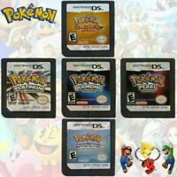 Pokemon HeartGold SoulSilver Platinum Game Card For Nintendo 3DS DSi DS NDS Gift