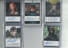 PETER DINKLAGE TYRION LANNISTER Rittenhouse Game of Thrones Season 3 BLUE Auto