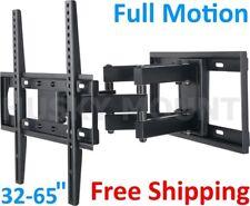 TV Wall Mount Bracket Full Motion Tilt Swivel Fits 32 40 47 55 65 Inch LCD LED