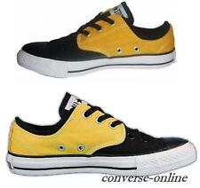 Mens Womens CONVERSE All Star BLACK YELLOW CVO SPLIT OX Trainers Shoes UK SIZE 5