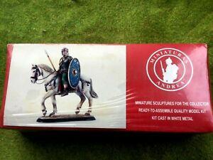 Ancient Roman cavalryman kit SG-F12 54mm Andrea Miniatures metal toy soldier NIB