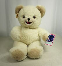 Vintage 80s SNUGGLE TEDDY BEAR - RUSS Lever Brothers Plush 1986 Commercial