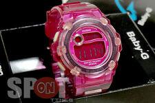 Casio Baby-G Jelly Pink Ladies Watch BG-3000A-6
