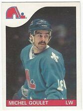 1985-86 OPC HOCKEY #150 MICHEL GOULET - NEAR MINT-