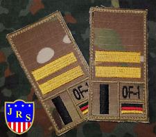 Bundeswehr Dienstgradabzeichen Nato US Einsatzabzeichen Combat Patch