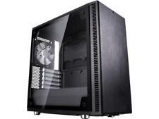 Fractal Design Define Mini C TG Black Tempered Glass Window Silent Compact MATX