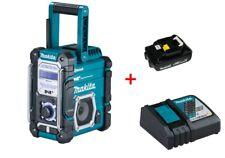 Makita Baustellenradio DMR112 7,2-18 V / DAB/DAB+/Bluetooth Ladegerät+Akku