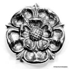 Yorkshire Rose East Lancashire Regiment Brooch Badge -UK Made- British Army