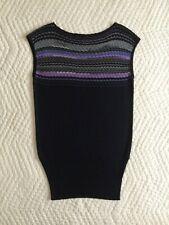 Brand New~M Missoni~Knit Mini Dress~Size IT 44~US 8~Chevron~Sleeveless~Ribbed