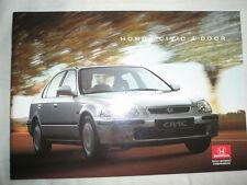 Honda Civic 4 Door brochure Oct 1995
