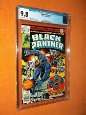 Black Panther #9 Cgc 9.8 {Black Musketeers app.} {Jack Kirby story &cover/art}!