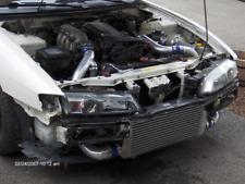 """CXRacing 31""""x12""""x3"""" FMIC Intercooler Kit For 89-99 Nissan 240SX S15 S14 SR20DET"""