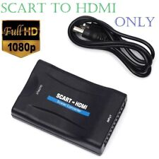 SCART To HDMI Video Audio Upscale Converter Adapter Cable for HD TV DVD Sky Box