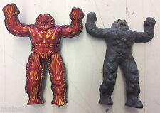 1986 Hasbro Inhumanoids Mutore Mutant Magnokor Lava Action Figure! See Pics!