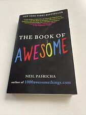 The Book of Awesome by Neil Pasricha Best Seller New York Time Inspiration Happy