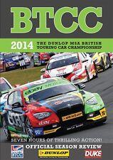 BTCC British Touring Car Championship - Official Review 2014 (2 DVD set) New
