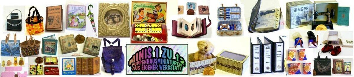 Minis1zu12-Puppenhausminiaturen