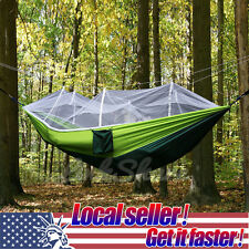 us 2 person travel outdoor camping tent hanging hammock bed with mosquito   di hammocks   ebay  rh   ebay ca