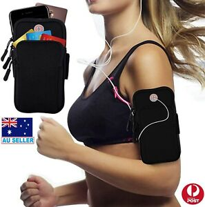 Arm Band Mobile Phone Holder Bag Sports Running Jogging Gym Exercise Pouch Case