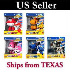 Super Wings Transformer Toy 5pc Set ( Hogi, Jerome, Ari, Donnie, JuJu)