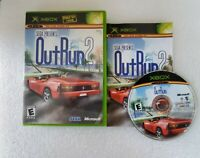 OutRun 2 (Microsoft Xbox, 2004) Sega Racing Complete Box Manual RARE - OFFERS