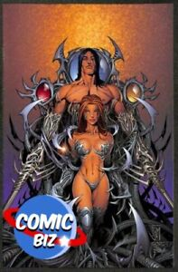 WITCHBLADE #54 DYNAMIC FORCES VIRGIN VARIANT (2002) WITH CERTIFICATE