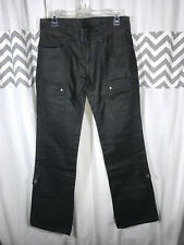 Oakley Size 8 Brown Straight Leg Outdoor Hiking Pants Coated Canvas 29x33 Womens