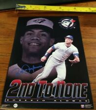 New listing Vintage 2nd To None Roberto Alomar Poster Costacos Brothers Blue Jays Baseball
