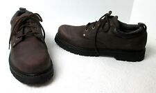 66dd78ca9b Men's Skechers Alley Cats SN7111 Rugged Brown Leather Oxfords Sz ...