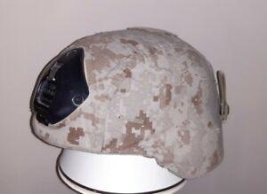 Us ballistic Combat Helmet Norotos mount Opscore Headlock Chin strap Marpat MSA