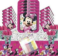 MINNIE MOUSE Party Supplies, Favors, Decorations Bundles (See Selections) NEW