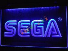 Sega LED Neon Bar Sign Home Light up movie Pub Bud Beer mancave sonic megadrive