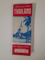 Thailand vintage TRAVEL GUIDE BROCHURE Bangkok 1950s