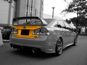 FRP Fiberglass trunk for Honda Civic VIII FD1/FD2 S1, S2 2005-2012