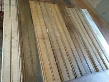 Bundle of reclaimed bead board salvage antique heart pine