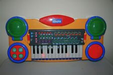 New listing Vintage Chicco Keyboard Electronic Baby Orchestra Kids Child Piano Instrument