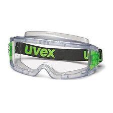 UVEX 9301-105 Ultravision Safety Goggles Anti-Fog Anti-Scratch Clear Lens EN166