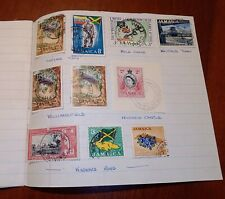 Jamaica Village Cancels Collection on Pages x10, Postal History