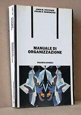 Manuale di organizzazione - Pfiffner Sherwood - Franco Angeli