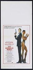 LOCANDINA, 007 BERSAGLIO MOBILE A View to a Kill MOORE, GRACE JONES, BOND POSTER