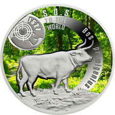 Niue 2016 1$ SOS To The World – They Are Gone!Aurochs 17.5 g Proof Silver Coin