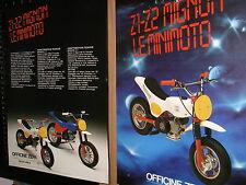 Officine zepa (mini moto ) mignon Z1 - Z2 -brochure....