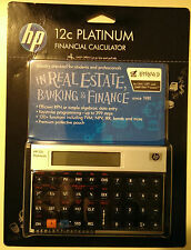 Hewlett Packard HP-12C Platinum RPN Calculator HP12C